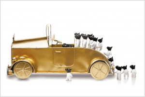 Gold car 2014